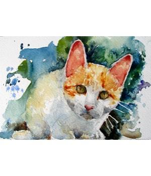 Etude animalière (aquarelle)