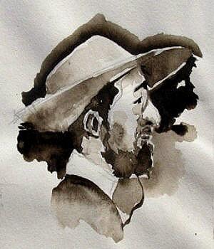 Portrait (Lavis)