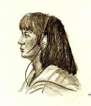 Portrait (mine graphite)